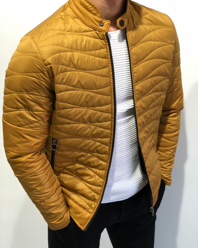 Yellow Inflatable Jacket by Gentwith.com with Free Shipping