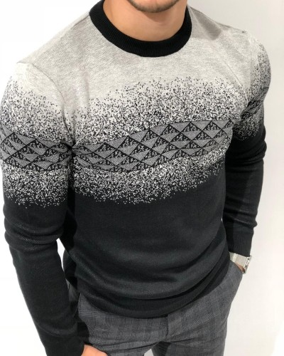 Black Sweater by Gentwith.com with Free Shipping