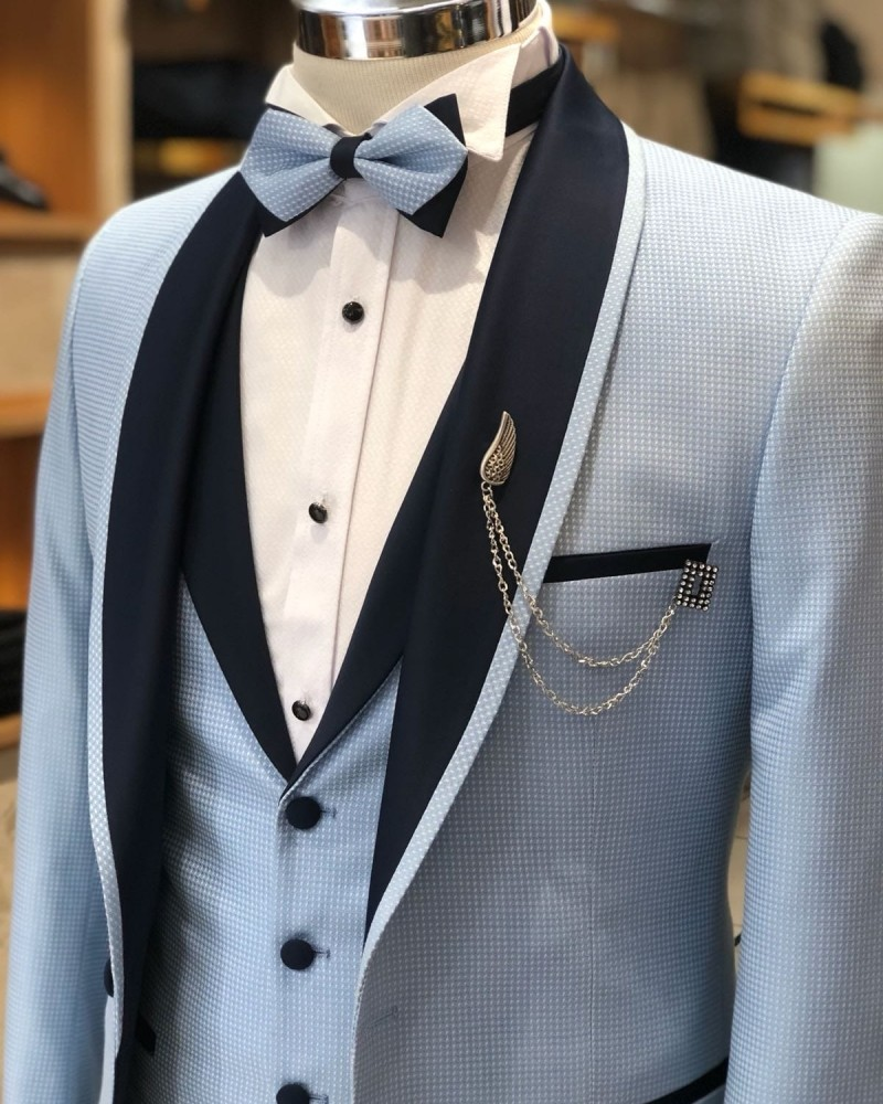 Blue Tuxedo by Gentwith.com with Free Shipping