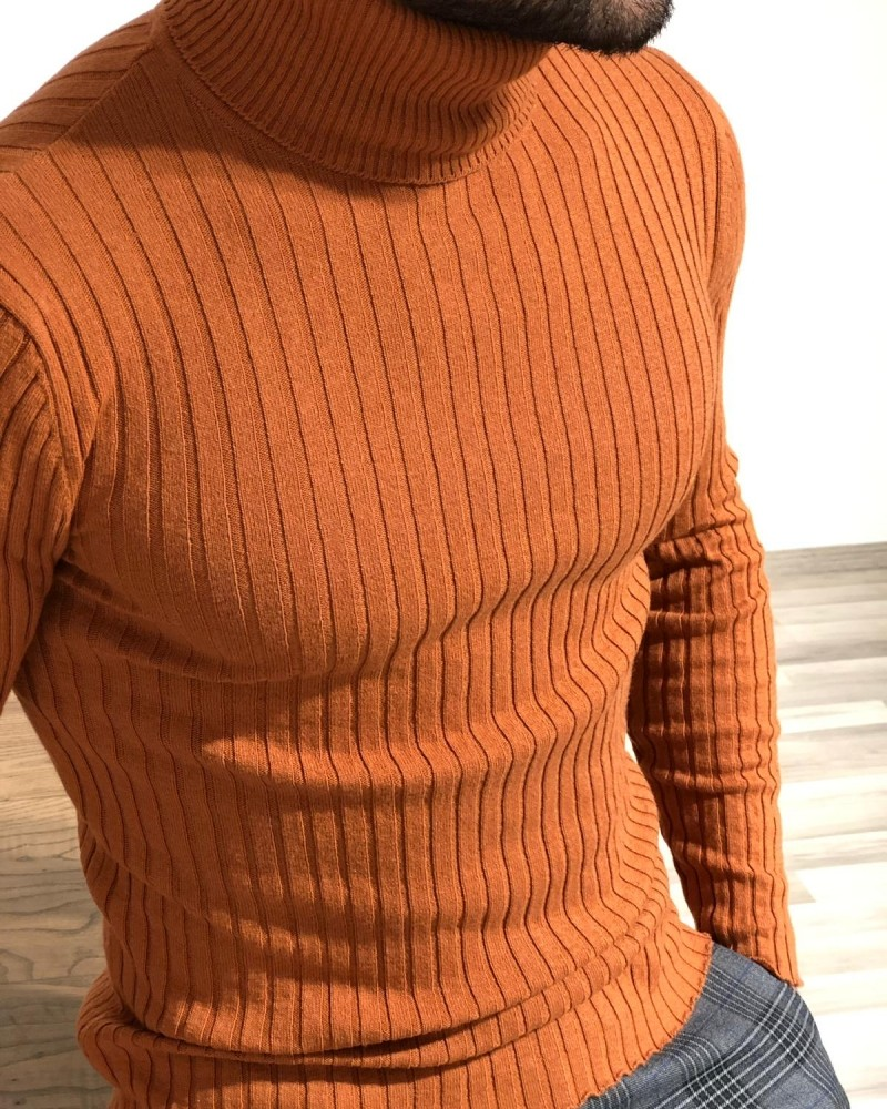 Tile Turtleneck Sweater by Gentwith.com with Free Shipping