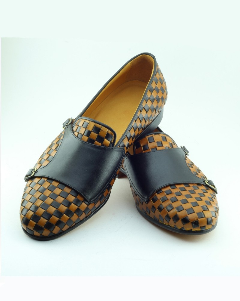 Yellow Handmade Calf Leather Bespoke Shoes by Gentwith.com with Free Shipping