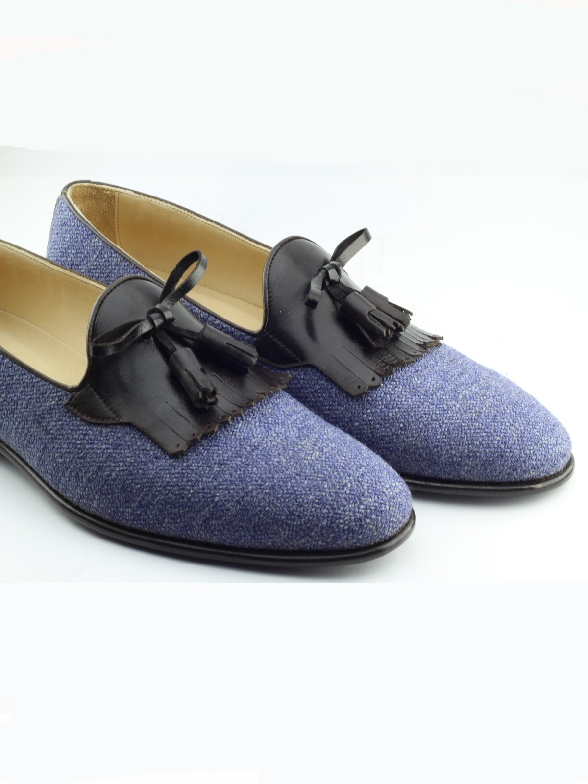 c440f214655 Buy Gray Bespoke Shoes by Gentwith.com with Free Shipping