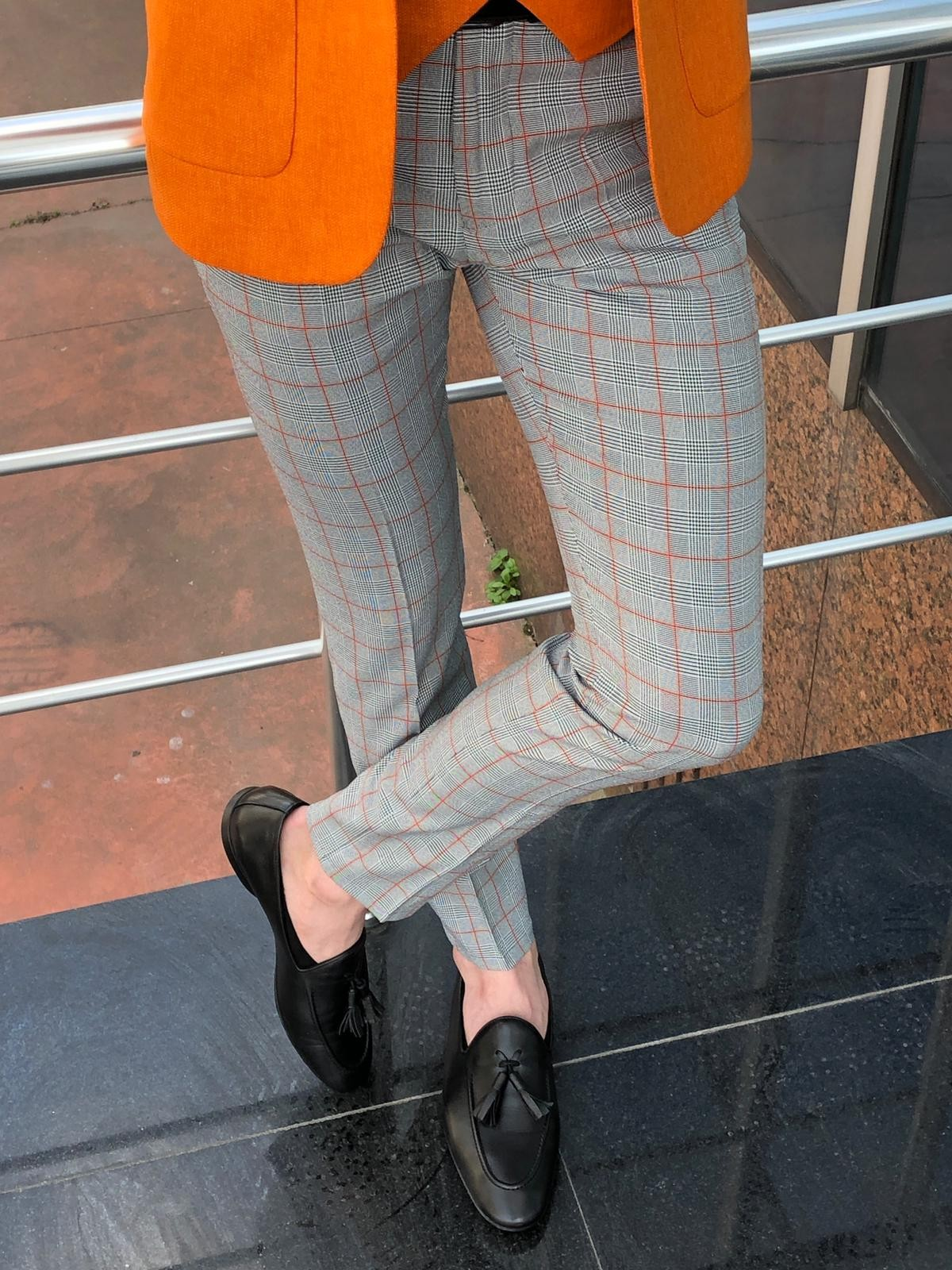 Plaid Pants Are the Only Pants You Should Buy this Season by GentWith.com