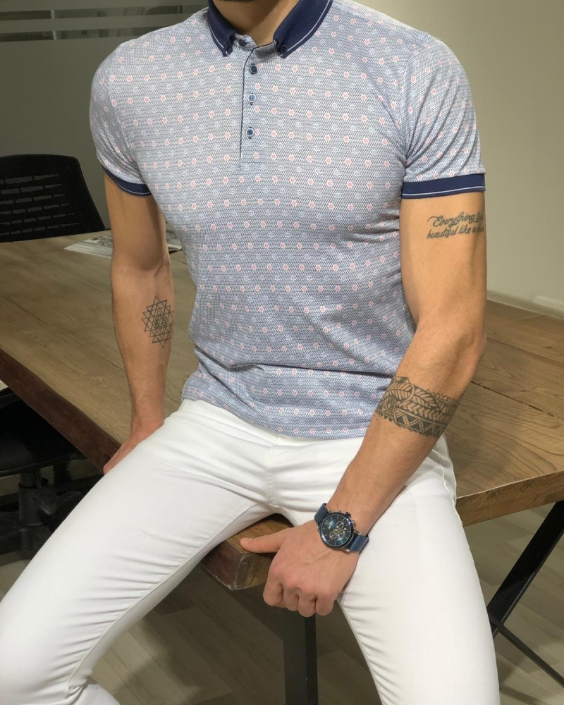 White T-shirt by Gentwith.com with Free Shipping