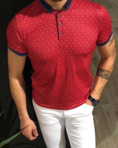 Red T-shirt by Gentwith.com with Free Shipping