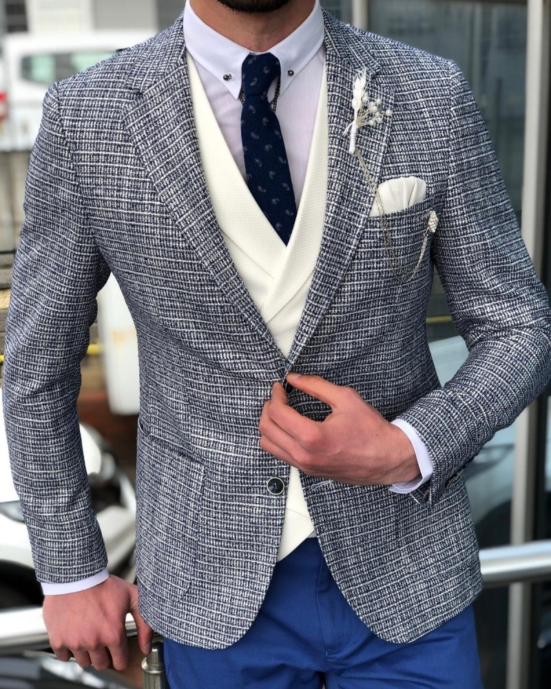 Gray Suit by GentWith.com with Free Shipping