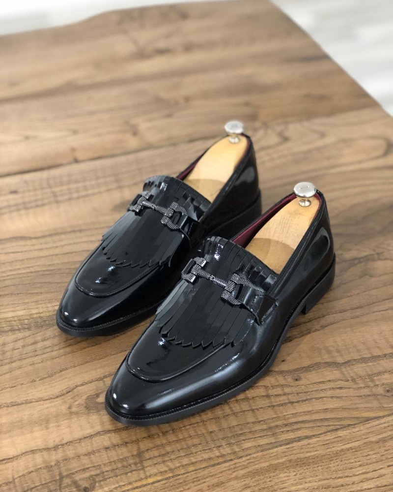 Black Kiltie Loafer by GentWith.com with Free Shipping