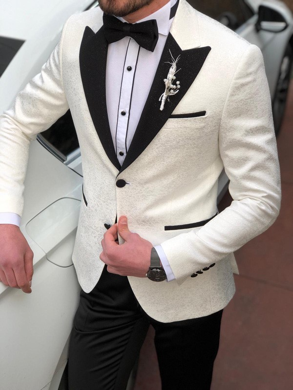 White Tuxedos to Wear on all Occasions by GentWith.com