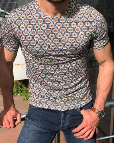 Purple Slim Fit T-Shirt by GentWith.com with Free Shipping