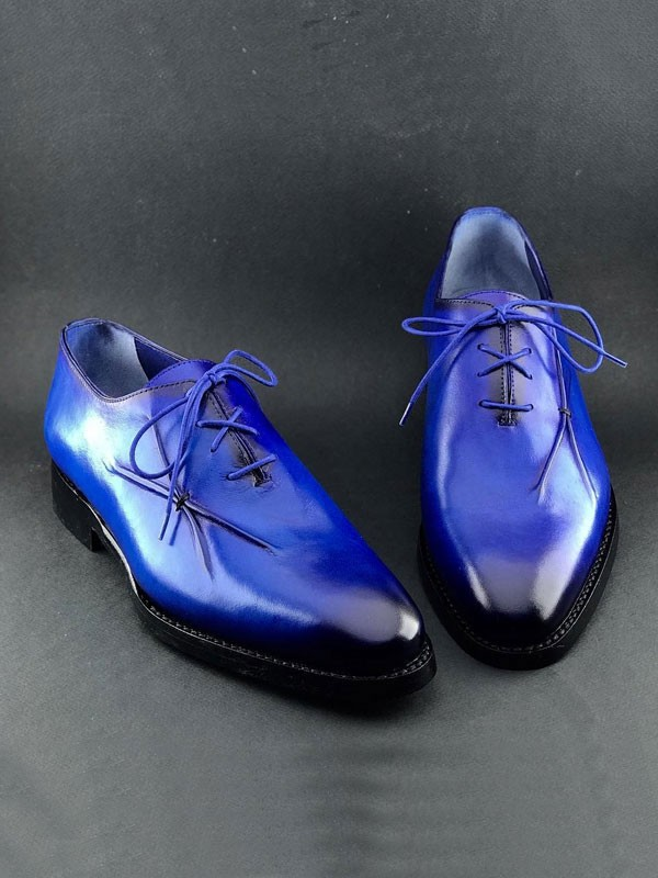 Blue Classic Oxford by Gentwith.com with Free Shipping