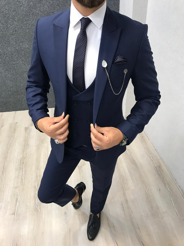 Basic Guide To Mens Suit Styles Men Fashion Blog Of Gentwith