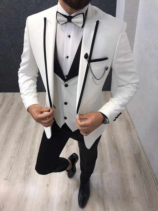White Tuxedos to Wear on all Occasions