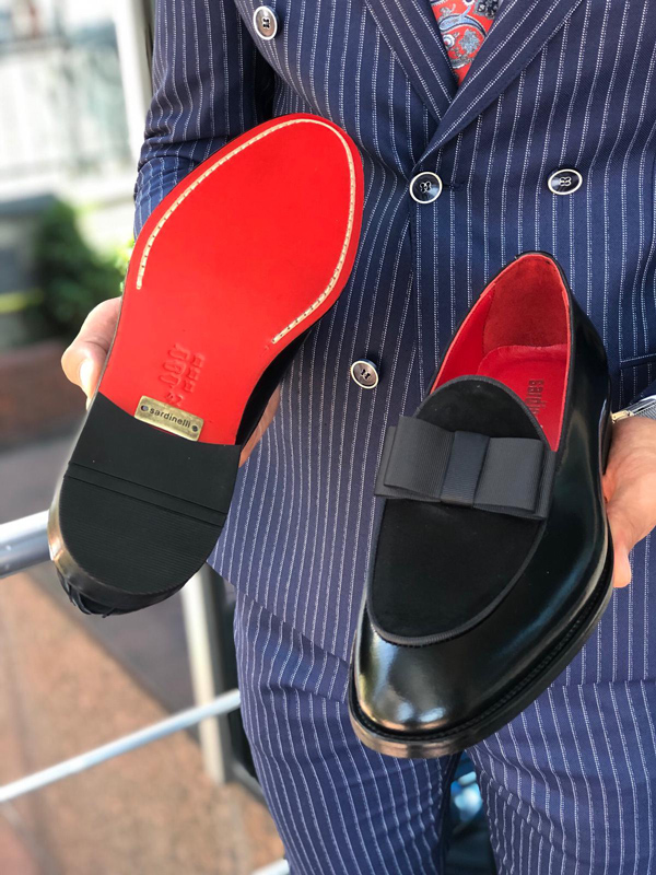 Black Pump Loafer by GentWith.com with Free Shipping