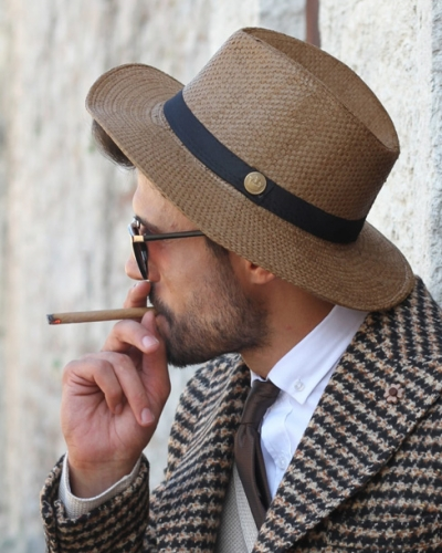 Brown Hat by GentWith.com with Free Shipping