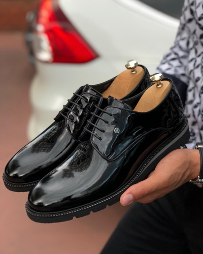 Black Laced Oxford by GentWith.com with Free Shipping