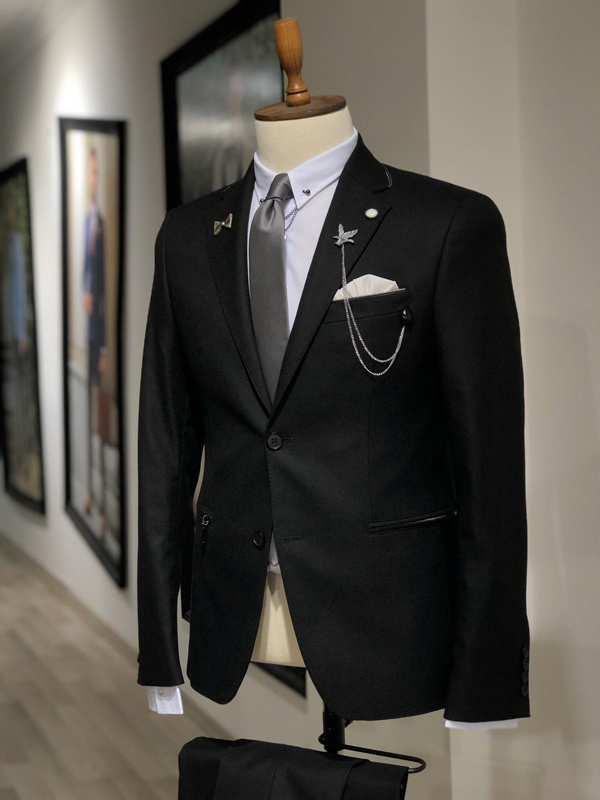 Black Suit by GentWith.com with Free Shipping