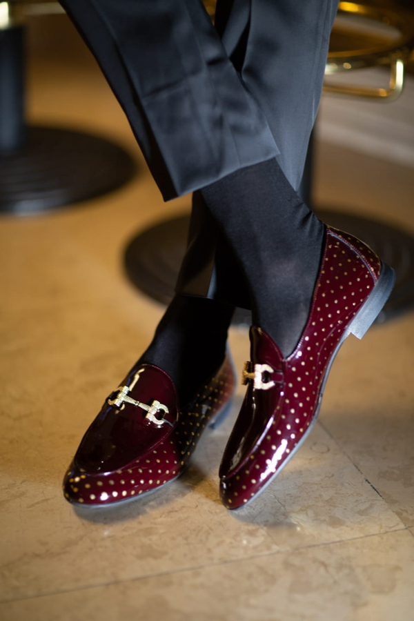 Burgundy Loafer by GentWith.com with Free Shipping Worldwide