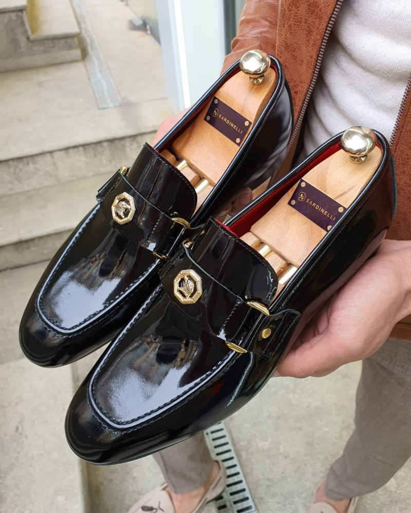 Black Classic Loafer by GentWith.com with Free Worldwide Shipping
