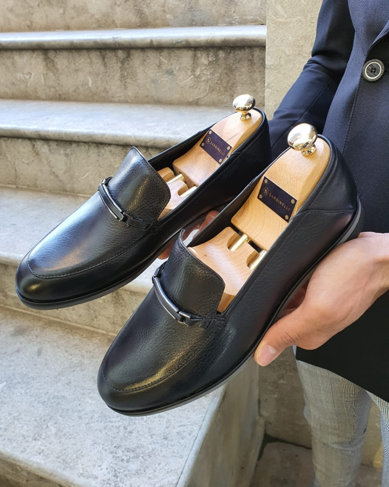 Black Loafer by GentWith.com with Free Worldwide Shipping