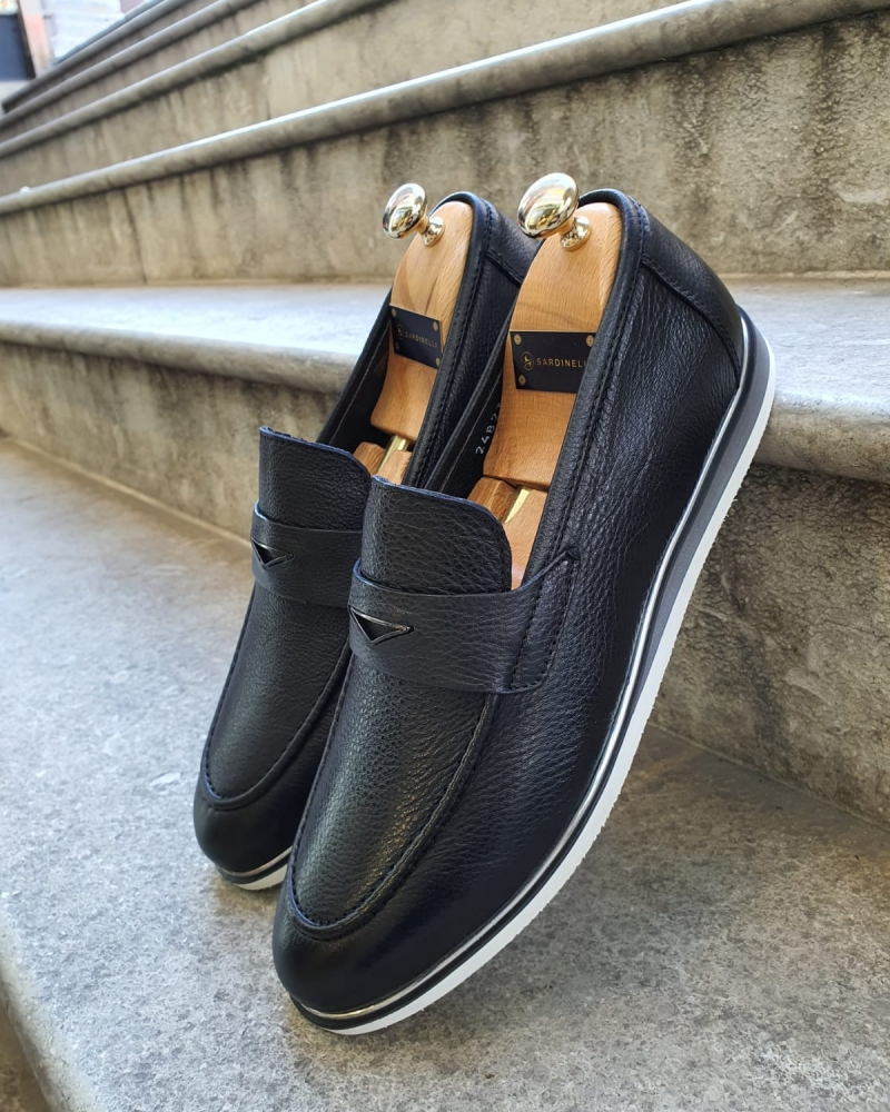Black Buckle Loafer by GentWith.com with Free Worldwide Shipping