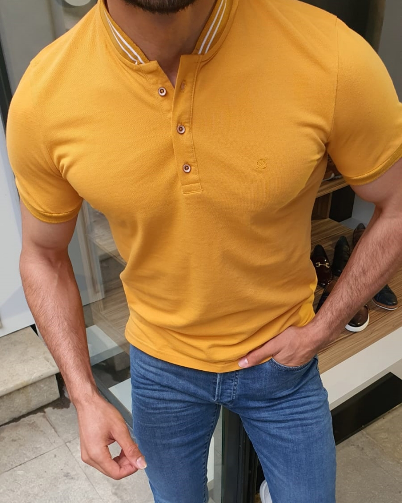 Yellow TShirt by GentWith.com with Free Shipping