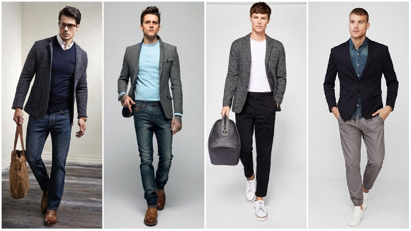 4 of The Best Mens Slim Fit Blazer Jackets