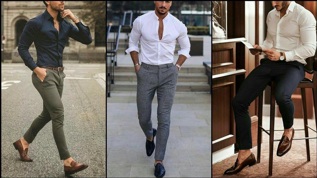 Mens Slim Fit Pants