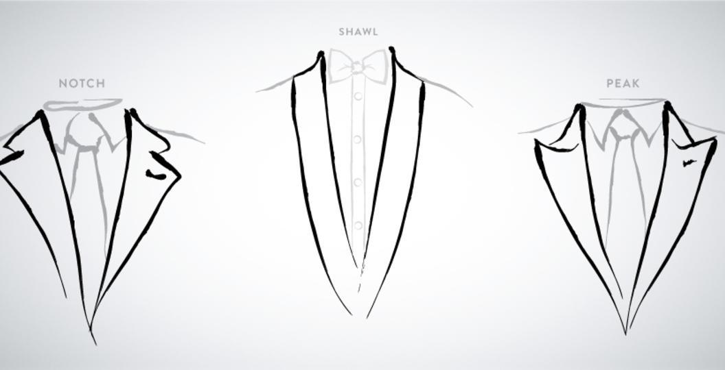 Men Tuxedo Lapel Styles