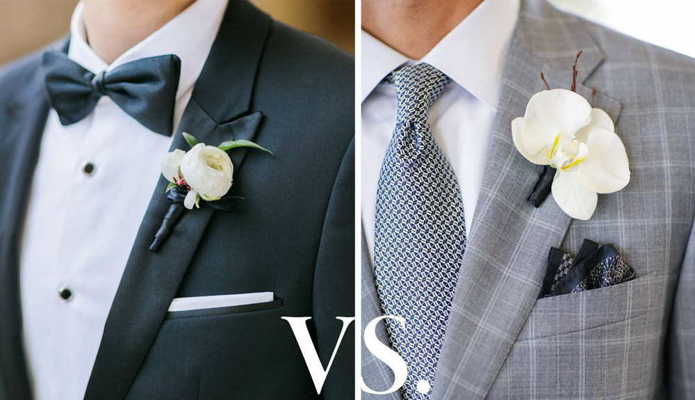 Tuxedo vs. Suit: Which Should You Wear on Your Wedding Day?