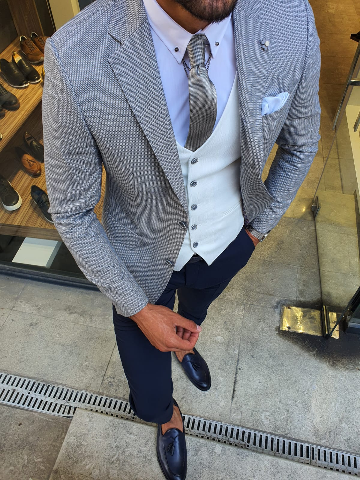 Gray Suit by GentWith Blog