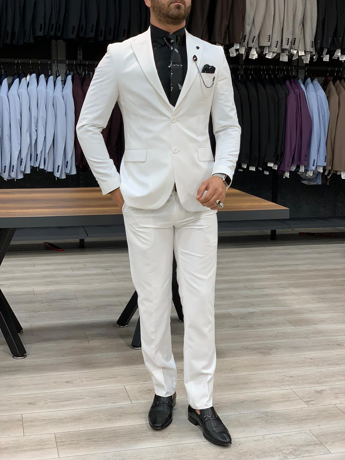 Right Way to Wear A White Suit by GentWith.com Blog