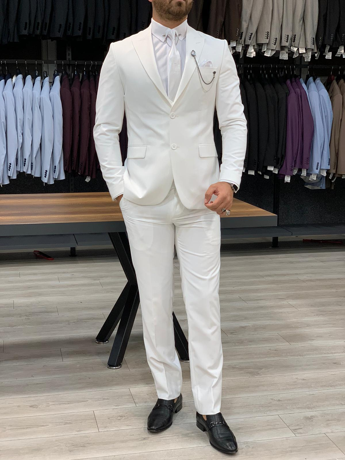 How to Wear A White Suit by GentWith.com Blog
