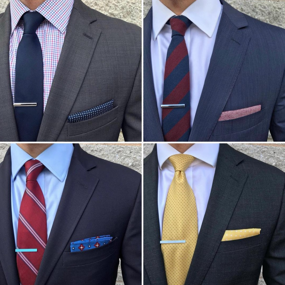 How to Match Your Tie With a Suit by GentWith Blog