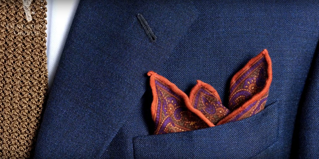 Pocket Squares Can Turn Your Boring Suit Into a Sartorial Stunner