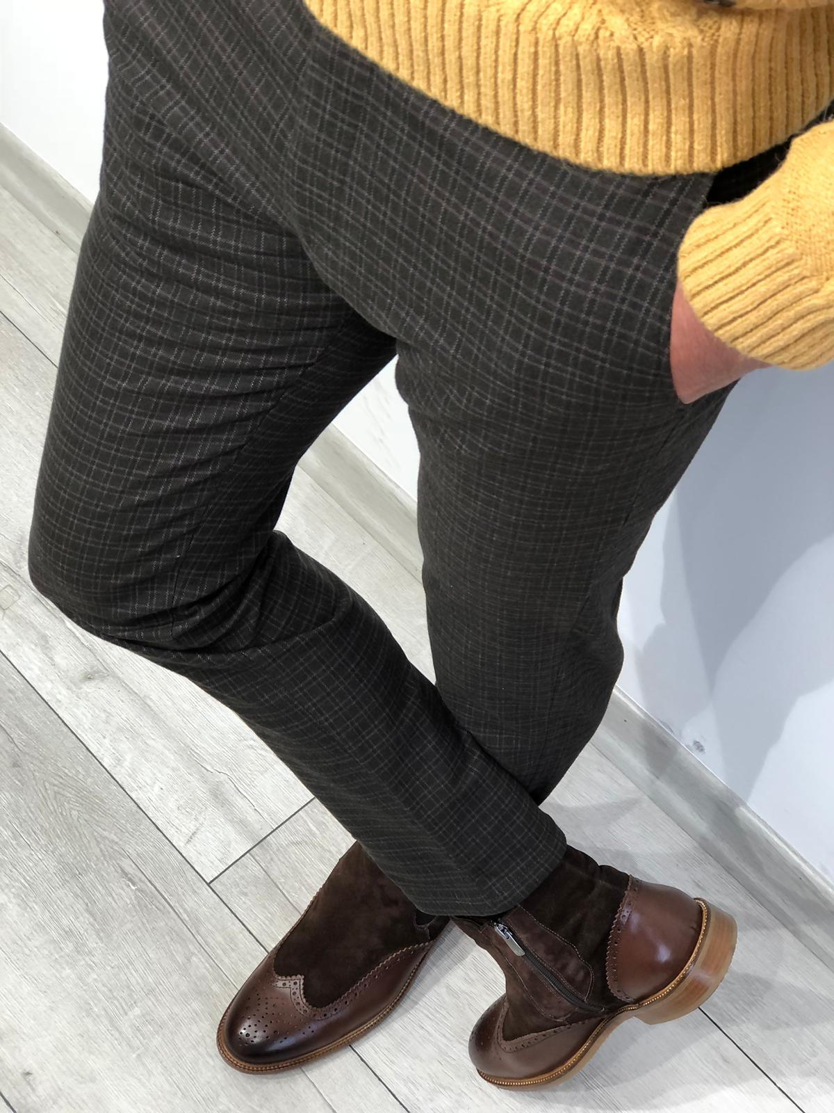 How to Wear Brown Shoes With a Black Suit or Trousers by GentWith Blog