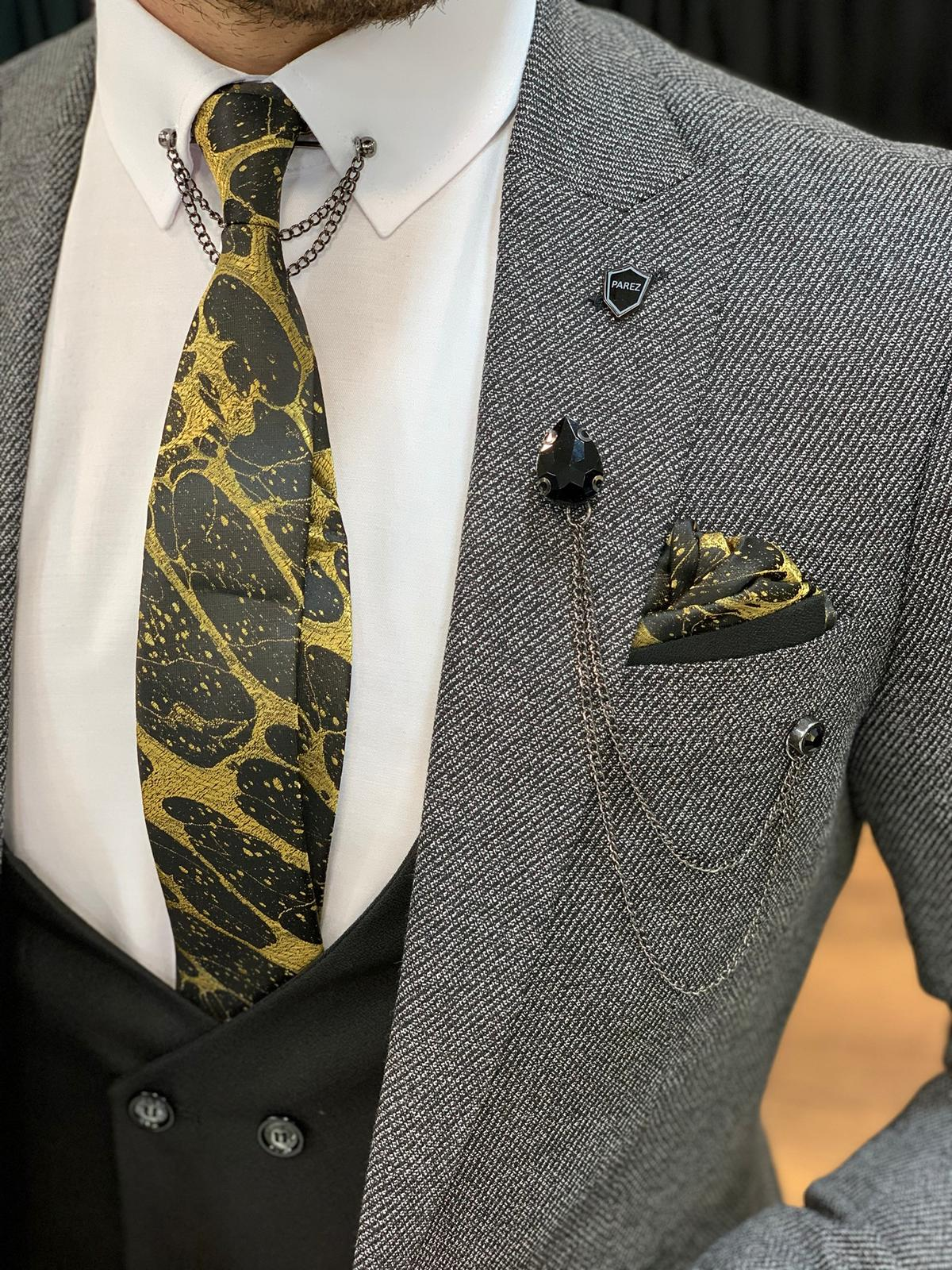 Pocket Squares Can Turn Your Boring Suit Into a Sartorial Stunner by GentWith Blog