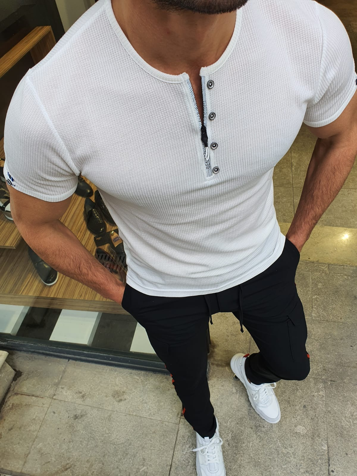 How To Elevate Your Wardrobe & Style With White Sneakers by GentWith