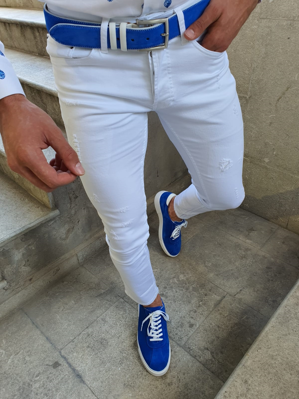 How To Wear White Jeans With Style by GentWith Blog
