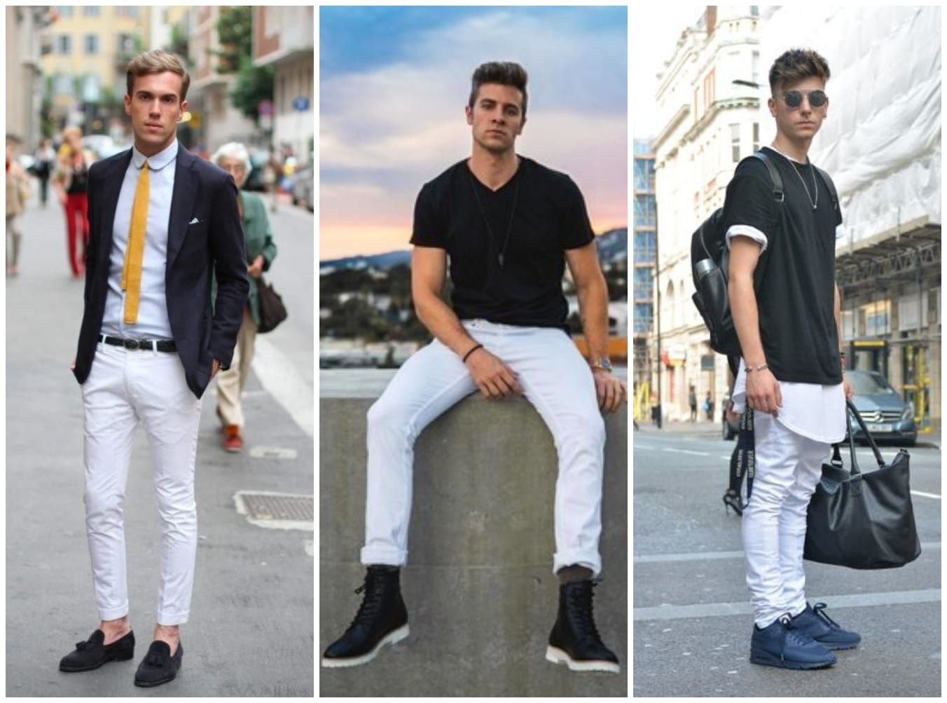 White Jeans Aren't Just For 80s Pop-stars; Here's How To Wear Them With Style