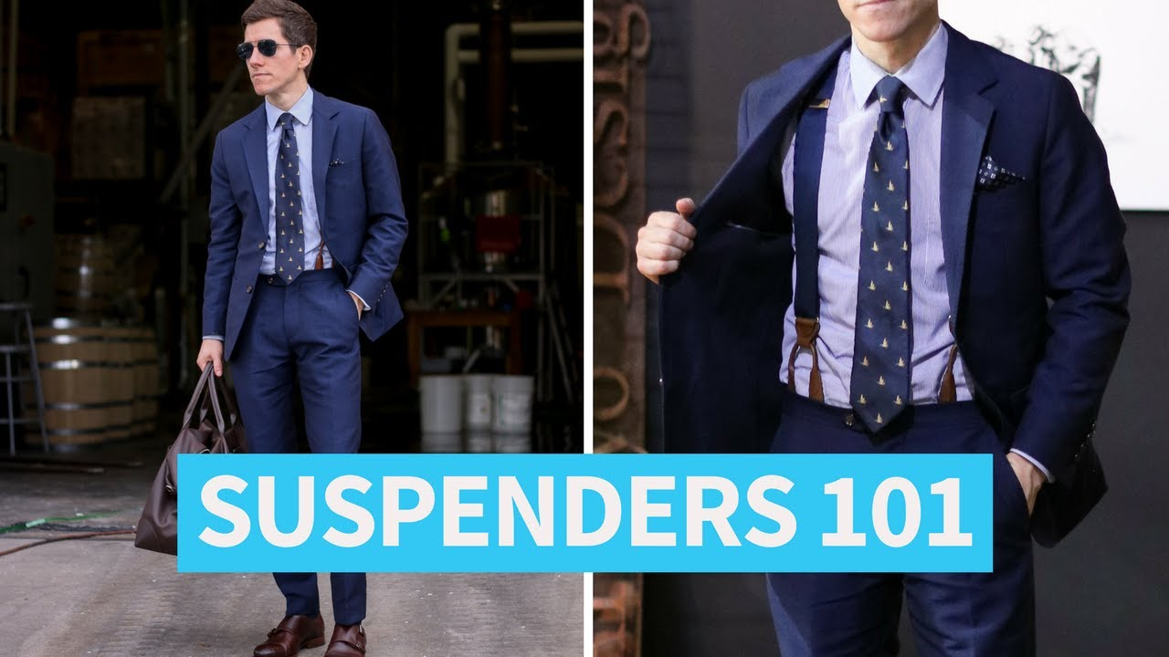 Suspenders 101 – Ultimate Guide by GentWith