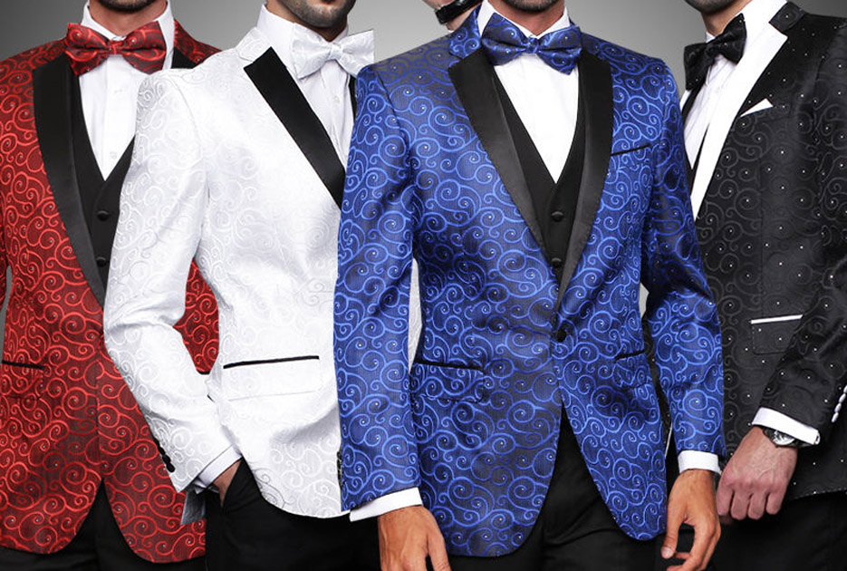 Dashing New Looks in Tuxedos for Grooms by GentWith Blog