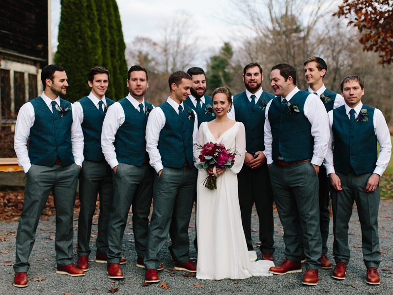 5 Groomsmen Outfits That Will Make You Rethink Tuxedos