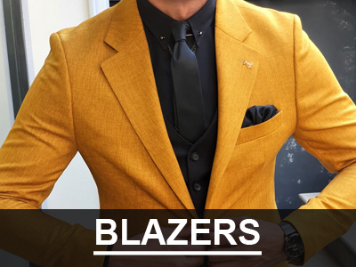 Men Blazers by GentWith.com with Free Worldwide Shipping