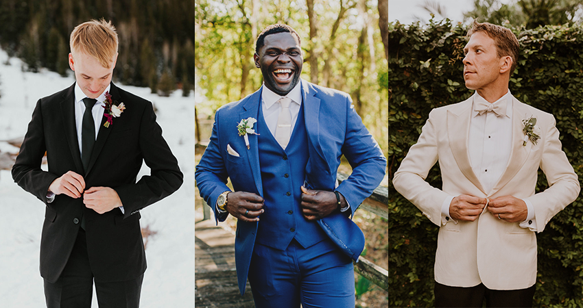 Wedding-Worthy Alternatives to Tuxedo by GentWith.com Blog