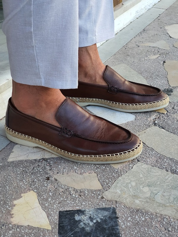 Brown Loafers by GentWith.com with Free Worldwide Shipping